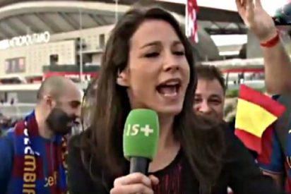 Directo: El sucio acoso sexual de hinchas del Barça a una reportera francesa