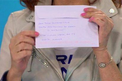 """La carta de la bruja asesina de Gabriel a Ana Rosa Quintana: """"¡Fue un accidente!"""""""