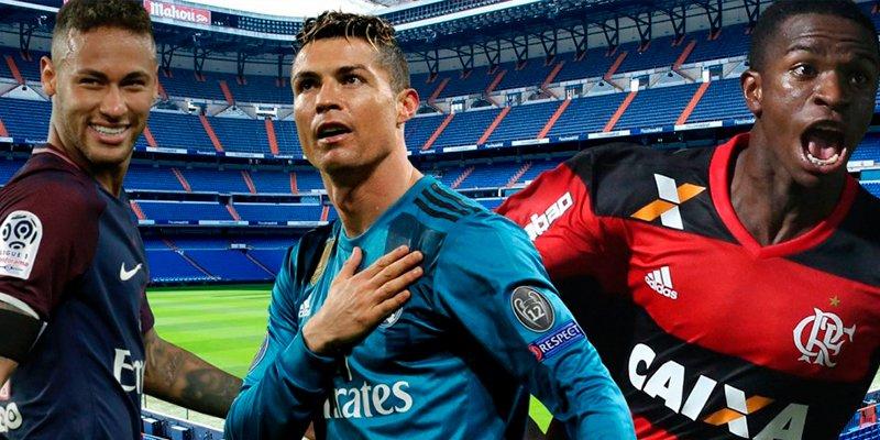 ¿Te imaginas una delantera Neymar-Cristiano-Vinícius?