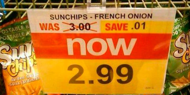 Las ofertas más chuscas de la historia de los supermercados