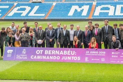 Los galácticos de 'OT' y el Real Madrid se unen para un concierto benéfico