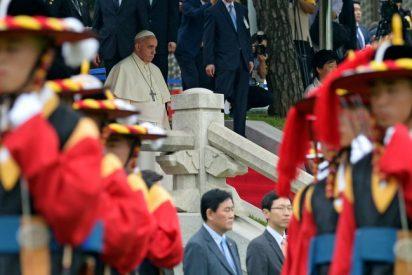 """El Papa anima a los coreanos a la """"reconciliación"""" a pocas semanas del encuentro Seúl-Pyongyang"""