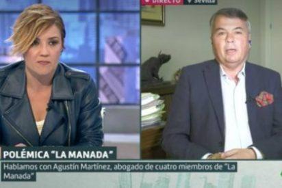 La pregunta de Cristina Pardo al abogado de 'La Manada' que lo pone en su sitio