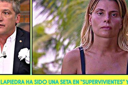 """Gustavo González: """"María Lapiedra ha sido una seta en 'Supervivientes' porque su ex ha incumplido un punto de su acuerdo"""""""