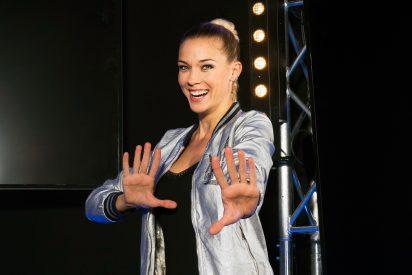 Patricia Montero, una presentadora con sorprendentes habilidades deportivas en 'Ninja Warrior'