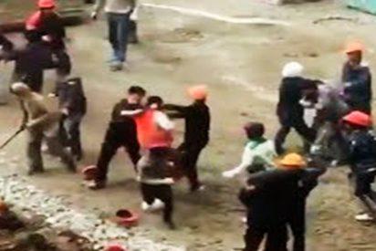 Sucia pelea entre obreros de Corea del Norte y Tayikistán