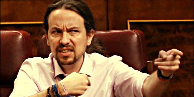 El tremendo corte de digestión que Iglesias sufrió ante la traición de Bescansa y Errrejón: no probó ni el postre