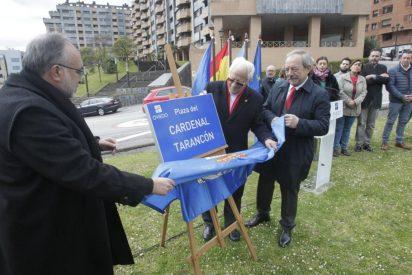 Oviedo dedica una plaza a la memoria del cardenal Tarancón