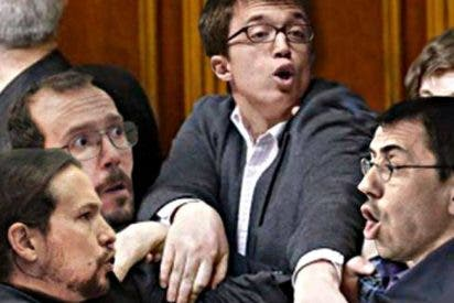 La manada de Podemos aúlla de rabia con la sentencia y acaba con el rabo entre las piernas