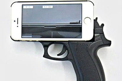 La letal pistola eléctrica que parece un iPhone