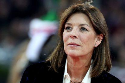 Carolina de Mónaco se pronuncia sobre el nacimiento del tercer hijo de Andrea Casiraghi