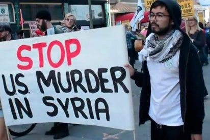 California protesta contra las guerras provocadas por EE.UU.