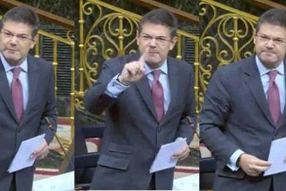 El ministro Catalá se olvida de la tibieza 'popular' y le mete un monumental revolcón al 'pedecato' Campuzano