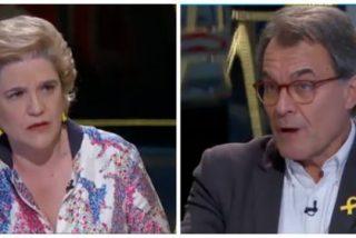 TV3 se revuelca en el lodo separatista con una repugnante pregunta de Rahola al golpista Mas