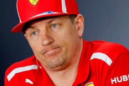 Raikkonen abandona tras atropellar a un mecánico de su equipo