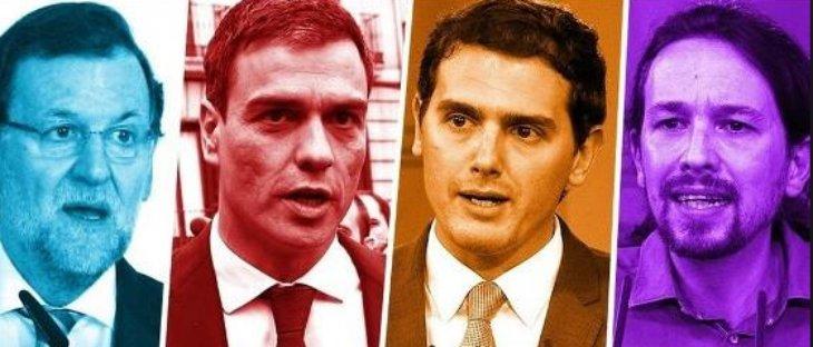 Encuesta de 'El Mundo': PP y PSOE se hunden ante la subida imparable de Ciudadanos