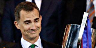 El Rey Felipe VI no se corta un pelo y pone en su sitio al 'indepe' presidente del Barça