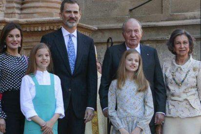 La Familia Real española posa al completo en la Catedral de Palma
