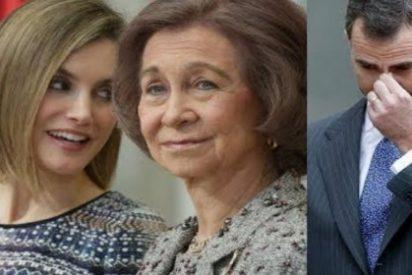La terrible amenaza de una colérica Letizia a Felipe y su traición a doña Sofía