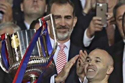 'Inie5tazo': El Barça gana su trigésima Copa del Rey tras golear al Sevilla