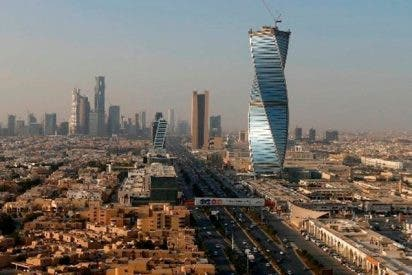 Esta 'apocalíptica' tormenta de arena engulle Riad, la capital de Arabia Saudita