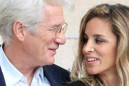 Richard Gere y Alejandra Silva ya son marido y mujer