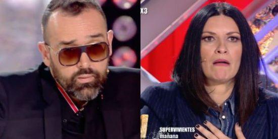 Telecinco vuelve a alimentar a la 'bestia' y permite que Risto machaque a Laura Pausini en 'Factor X'