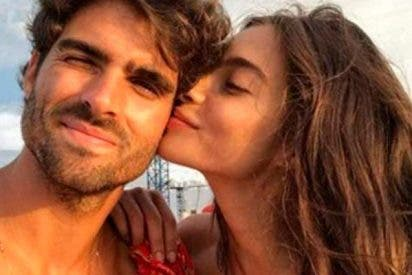 Rocío Crusset y su novio: amor húmedo en Miami