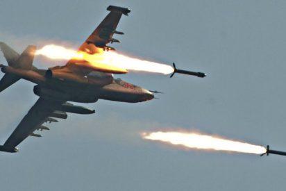 Los terroristas del ISIS atacan un avión ruso y este los caza como conejos