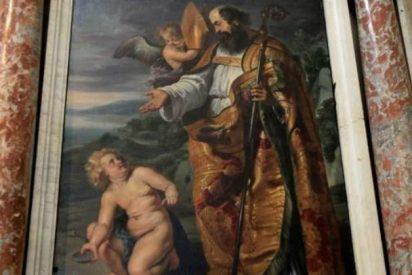 Un experto atribuye a Rubens un cuadro de una iglesia de Salamanca