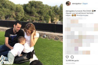 Sergio Busquets y Elena Galera están esperando su segundo hijo