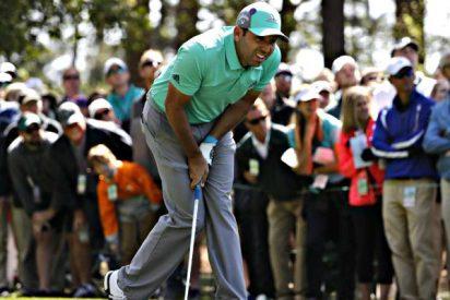 Golf: Sergio García arruina su Masters con el peor hoyo de la historia del torneo