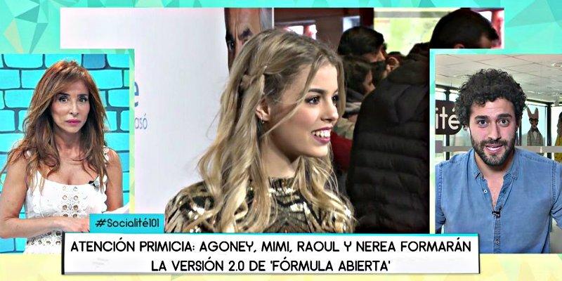 'Telecinco': María Patiño pone de los nervios a los fans de OT 2017 con una exclusiva bomba
