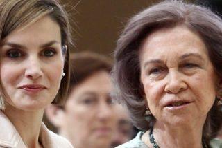 Cachondeo en las redes con el encontronazo entre la reina Letizia y doña Sofía