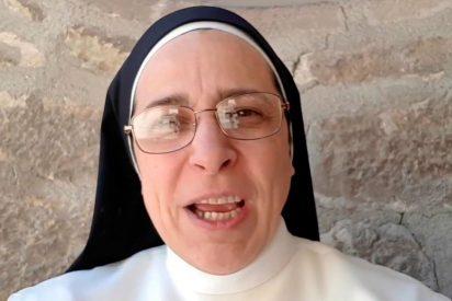 La monja argentina separatista quiso burlarse del Real Madrid y le salió el tuit por la culata