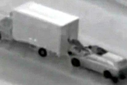 Asi asaltan camiones en España las bandas de 'surferos' rumanos