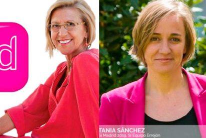 Descojone en Twitter con el inquietante parecido de la foto de Tania Sánchez como 2 de Errejón