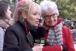 """El gran patinazo de esta reportera de 'Madrid directo': """"¿Llevaba las bragas atadas?"""""""
