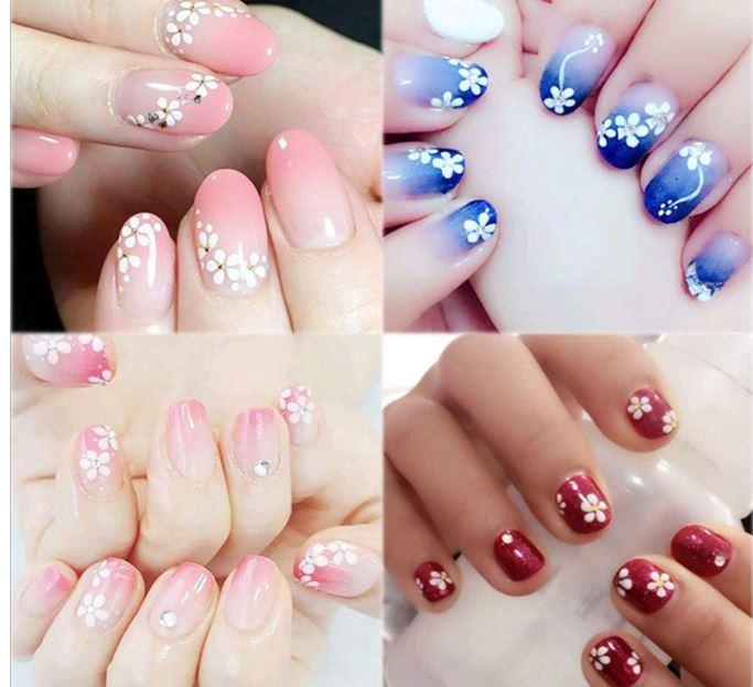 tendencias uñas pegatinas
