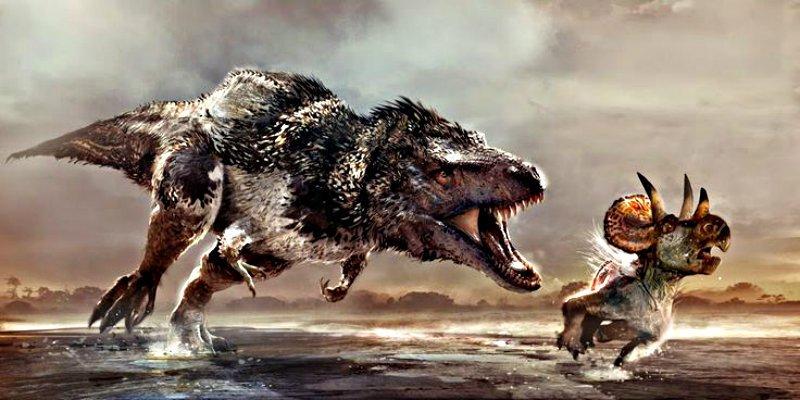Terópodos: Los dinosaurios depredadores no competían por la comida