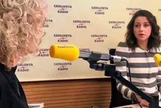 Arrimadas pone en su sitio a la feroz musa del separatismo, Mònica Terribas, por quitarle hierro al hecho de haber sido nombrada persona non grata