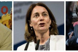 """Tertsch sacude a la ministra alemana que simpatiza con los golpistas: """"Es una patética bibianaaido renana con máster en leyes"""""""