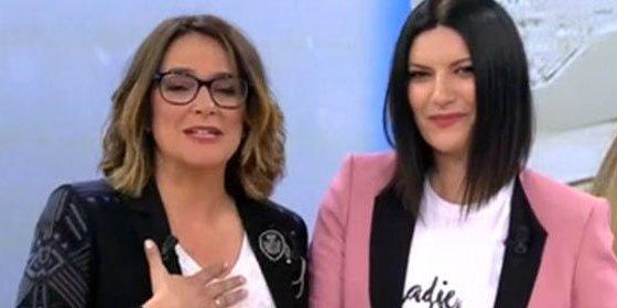Laura Pausini saca del armario a Toñi Moreno a rastras: ¿Ha sido poco ético?