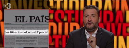 El numerito separata de Toni Soler en TV3: dar un puñetazo a su portátil tras leer un artículo de El País