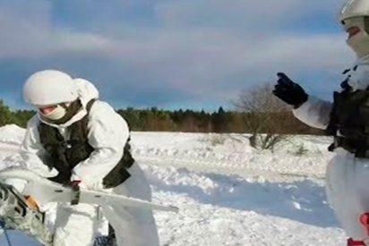 Así aprenden las tropas de misiles rusas a manejar sus nuevos equipos antisabotaje