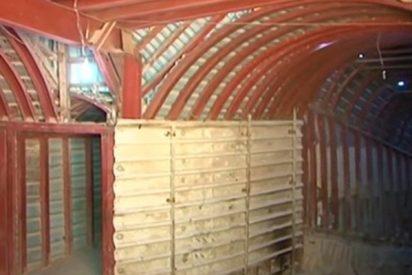 Descubren en Duma una enorme red de túneles usada por los terroristas