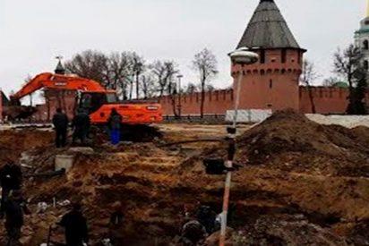 Giro en la historia: Descubren 30 tumbas de supuestas víctimas de plaga y una iglesia del siglo XVIII en Tula
