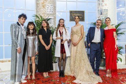 Alicia gana el primer 'Maestros de la costura'
