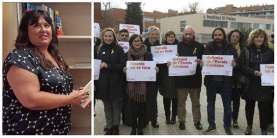 El País saca del anonimato a Nuria Vallduriola, la 'ideóloga' del acoso a los hijos de guardias civiles en Cataluña