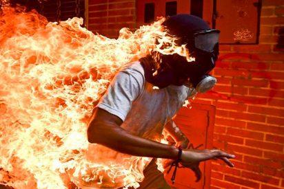 Esta dramática foto sobre las protestas contra la tiranía en Venezuela gana del World Press Photo 2018